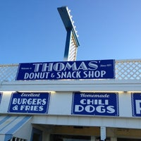 Photo taken at Thomas Donut & Snack Shop by Lynne J. on 4/7/2012