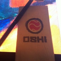 Photo taken at Oshi Asian Interactive restaurant by Inessa C. on 1/13/2012