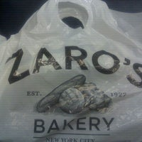 Photo taken at Zaro's Bakery by Corey T. on 3/14/2012