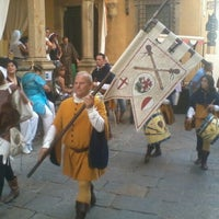 Photo taken at Piazza San Giovanni by Antonio F. on 8/21/2011