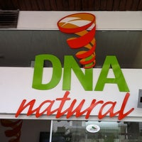 Photo taken at DNA Natural by Felipe P. on 10/1/2011