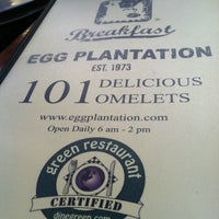 Photo taken at Egg Plantation by Gaby T. on 12/3/2011