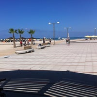 Photo taken at Herzliya Beach by Oren R. on 10/15/2011