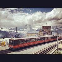 Photo taken at Gornergrat by melissa w. on 7/10/2012