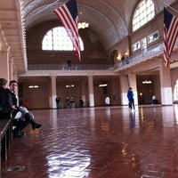 Photo taken at Ellis Island by Javier P. on 1/3/2012