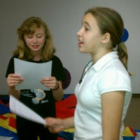 Photo taken at Theatrikids Rehearsal Space by Erin B. on 9/20/2011
