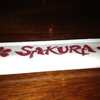 Photo taken at Sakura Japanese Steak, Seafood House & Sushi Bar by Christopher L. on 6/30/2012
