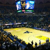 Photo taken at WVU Coliseum by Jon D. on 11/28/2011