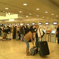 Photo taken at easyJet Check-In by Stanislav K. on 10/29/2011