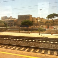 Photo taken at Stazione FS Bagheria by Simona D. on 7/31/2012