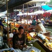 Photo taken at Damnoen Saduak Floating Market by Senabodee M. on 3/9/2012