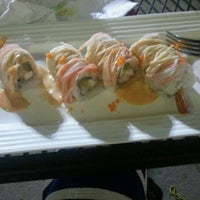 Photo taken at Crazy Sushi by kristi c. on 3/30/2012