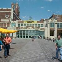 Photo taken at Asbury Park Boardwalk by Michael K. on 5/13/2012