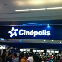Photo taken at Cinépolis by Mariano C. on 8/16/2012