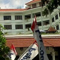 Photo taken at Top Roof Inna Garuda Hotel by Arya D. on 11/16/2011
