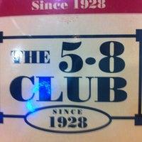 Photo taken at 5-8 Club by Davian A. on 7/26/2012