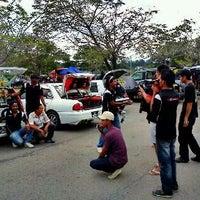 Photo taken at Parking Kompleks Sukan Likas by Dexie L. on 11/5/2011