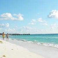 Photo taken at Playa Xaman-Ha by Top Mexico Real Estate on 12/2/2011