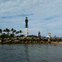 Photo taken at Hillsboro Inlet Lighthouse by Randy D. on 5/4/2012