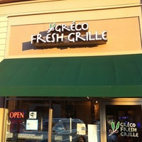 Photo taken at Greco Fresh Grille by Brad K. on 9/10/2011
