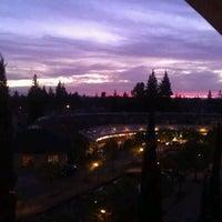 Photo taken at Hilton Stockton by Lee P. on 1/5/2012
