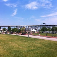 Photo taken at Riverwalk Landing by Nathan M. on 5/22/2011