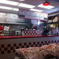 Photo taken at Five Guys by LiveUptownNow.com on 8/31/2011