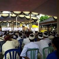 Photo taken at Pura Dalem Purnajati by Yudha k. on 1/8/2012