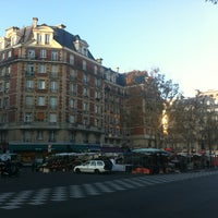 Photo taken at Place Maubert by Jorge M. on 11/19/2011