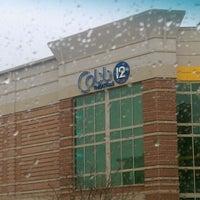 Photo taken at Cobb Village 12 Cinemas by Deborah on 3/24/2012