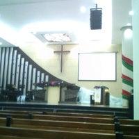 Photo taken at Gereja Kristen Indonesia (GKI) by Lilik S. on 1/1/2012