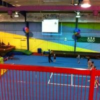 Photo taken at Gwinnett gymnastics center by Chad G. on 11/7/2011