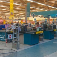 Photo taken at Carrefour by gaetan f. on 6/23/2011