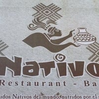 Photo taken at Nativo by Jose L. on 3/18/2012