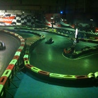 Photo taken at Indoor Karting Barcelona by Alex D. on 6/16/2012