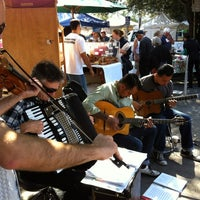 Photo taken at Palo Alto Farmers Market by Nick A. on 8/6/2011