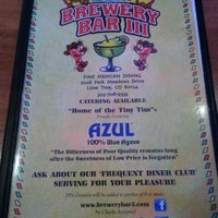 Photo taken at Brewery Bar III by Amy H. on 12/19/2011