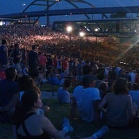 Photo taken at Marcus Amphitheater by Lupe B. on 6/30/2012