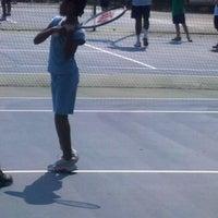 Photo taken at Millbrook Tennis Center by Velma T. on 8/18/2012