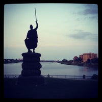Photo taken at Druid Hill Park by Andrew on 8/2/2012