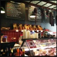 Photo taken at Encasa Deli by Geoff K. on 2/16/2012