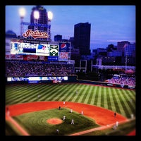 Photo taken at Progressive Field by Jason H. on 5/5/2012