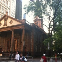 Photo taken at St. Paul's Chapel by Megan B. on 6/8/2012