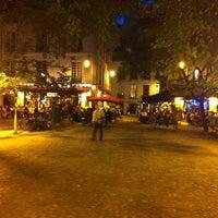Photo taken at Place du Marché Sainte-Catherine by jeffrey g. on 8/11/2011