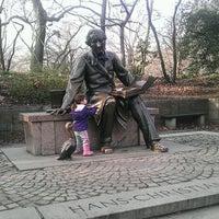 Photo taken at Hans Christian Andersen Statue by Jenn P. on 1/1/2012