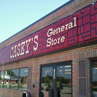 Photo taken at Casey's General Store by Stephanie G. on 9/1/2011