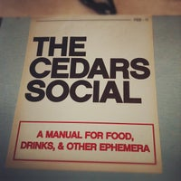 Photo taken at The Cedars Social by Jill C. on 11/15/2011