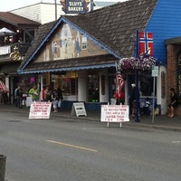 Photo taken at Sluys Poulsbo Bakery by Brant W. on 7/4/2011