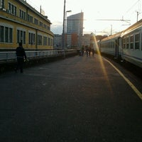 Photo taken at Genova Sampierdarena Railway Station by Alessandro Y. on 5/26/2012