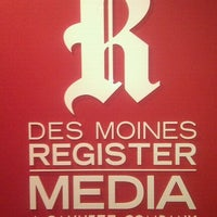 Photo taken at Des Moines Register by Andrew D. on 5/31/2011